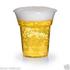Bierbecher Ausschankbecher Trinkbecher Cocktail Becher klar 0,3 l 300 ml Einweg