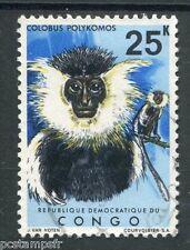 CONGO REP. DEMOCRATIQUE, 1971, timbre 793, ANIMAUX, SINGE, oblitéré