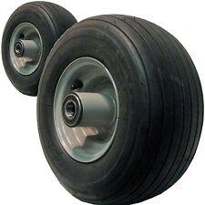 2) 13x6.50-6 13/650-6 TIRE RIM WHEEL for some Exmark Toro more Zero Turn Mowers