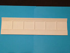WP118 Classic Lower Wall Panel Plain Plaster RepliCast Miniatures - Dolls House