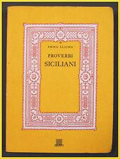 Alaimo PROVERBI SICILIANI 1991 Giunti Firenze