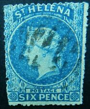St Helena 1861 6d SG 2a Used Cat £140