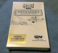 New in Box GDW Space 1889 Adversaries Aerial Gunboats, Rare OOP in Shrinkwrap