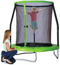 6Ft Trampoline With Folding Enclosure