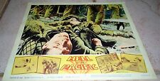 Hell in the PACIFIC 1965 Original Lee Marvin WWII Movie Lobby Card!