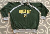 Green Bay Packers NFL Green NFL Football Sweatshirt Men's Size 2XL