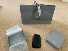 Mulberry iPhone 5/5S/SE Cuero Negro Manga/Estuche/Cubierta