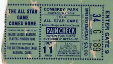 1950 All-Star GM Red Schoendient HR Wins  Ticket Pass Ted Williams Injury/Hit Ex