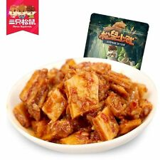 Chinese Food Snacks Three Squirrels SanZhiSongShu BanJin 三只松鼠_小贱牛板筋120gx2袋 燒烤味包邮
