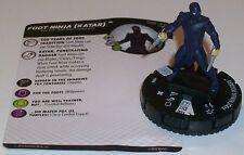 FOOT NINJA(KATAR) #006 #6 Teenage Mutant Ninja Turtles Series 2 TMNT HeroClix
