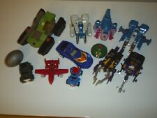 Transformers G1 Vintage Autobot & Decepticon Loose LOT of 12 Figures