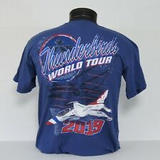CLOSEOUT!! USAF Thunderbirds 2019 World Tour T-Shirt in 2 colors!!