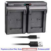 Kastar Battery Dual Charger for Pentax D-Li50 & PENTAX K10D K10D K20D GP Camera