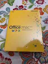 Microsoft Office for Mac Home and Student 2011 Key Card - No disc