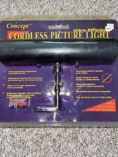 Concept Cordless Picture Light Premium Slimline Version