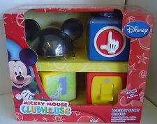 DISNEY Mickey Mouse Clubhouse ACTIVITY Story BLOCKS 12M+ NEW Learn Creative