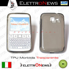 Cover Custodia Tpu trasparente Morbida Samsung Galaxy YPRO/B5510
