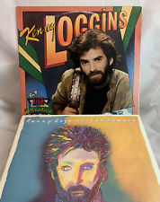 KENNY LOGGINS -Lot Of 2 Vinyl LPs - Vox Humana / High Adventure PLAY TESTED VG