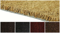 Heavy Duty Natural Coconut Coir Reception Entrance Door Mat Matting 17mm 1 Metre