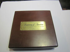 More details for discovery of america 500th anniversary coin collection gold coin box