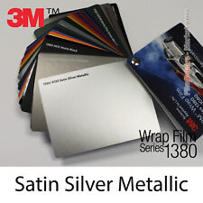 Proben - Matt Silber Metallic 3M 1380 S130 Wrapping Total Abdeckung Folie