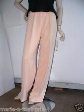 Jolie pantalon habillé rose saumon taille 40 pour mariages cérémonie val.250€