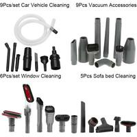5/6/9Pcs/set Sofa Window Car Vehicle Cleaning Tool Kit Vacuum Cleaner Attachment