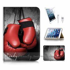 ( For iPad mini 4 ) Flip Case Cover! P2072 Boxing Gloves