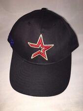 2000 Houston Astros Blue Star Red/Gold Black Adjustable PROMO Cap Hat
