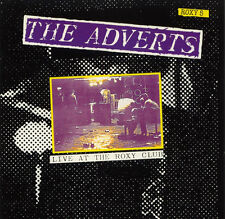 The Adverts-Live at the roxy, CD