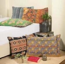Indian Bohemian Kantha Cushion Pillow Vintage Kantha Covers Throw Decor