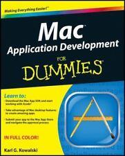 Mac Application Development For Dummies, Kowalski, Karl G., Good Condition, Book