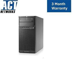 HP ML110 G7 E3-1240 4C 3.3Ghz 16GB Ram 2x 300GB SAS, 2x 1TB SAS 2x 460W P212