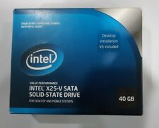 Intel X25-V SATA Solid-State Drive 40GB 2.5-inch for Desktop and Mobile Systems