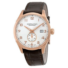 Hamilton Maestro Pink Gold PVD Stainless Steel Mens Watch H42575513