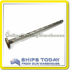 GO KART ROTAX MAX 125CC END CAP PERFORATED EXHAUST TUBE GENUINE Part No. 273093