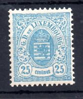 Luxembourg 1880 25c blue SC#46 mint MNH WS11016
