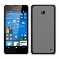 Dünn Slim Cover Microsoft Lumia 630 Handy Hülle Silikon Case Schutz Tasche
