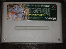 Prince of Persia Super Famicom Nintendo SFC SNES JP Japan Import 1 I