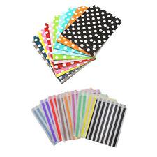 More details for paper party bag polka dot stripe 7