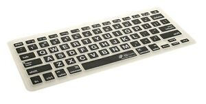 KB COVERS KEYBOARD COVER FOR MACBOOK PRO/AIR, LARGE TYPE (LT-M-CB)