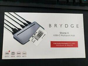 Brydge Stone II USB-C Multiport Hub for Windows & MacOS