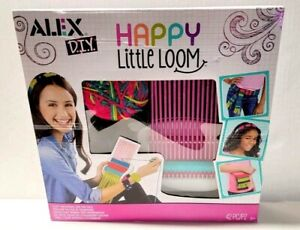Alex DIY Happy Little Loom Weave Different Widths and Add Beads NEW