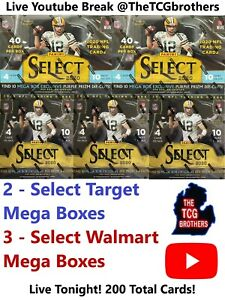 Washington Redskins Break #346 5x 2020 Select Mega Box Football Team Hobby