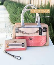 SALE!! BNWT RRP$288 GUESS MUSE Shoulder Bag Satchel Wallet Purse Clutch Sand