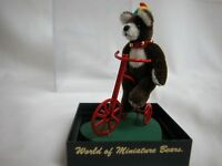 "World of Miniature Bears 1.75"" Plush Bear Butch #652 Collectible Miniature Bear"