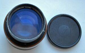 Rare Telor 2/85 mm Red O lens 18 blades Planar system
