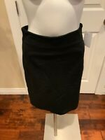 Theory Black Pencil Skirt, Size 6