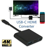1080P 4K Type-C to HDMI Adapter For Switch USB-C HDMI Converter HUB Adapter