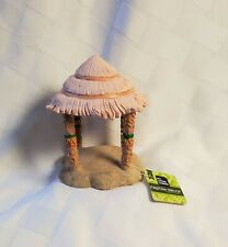 NEVER BEEN USED - ALL LIVING THINGS TIKI HUT TERRARIUM DECORATION